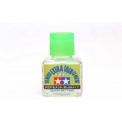 Tamiya 87182 - Colle pour plastique extra fluide séchage rapide - 40 ml