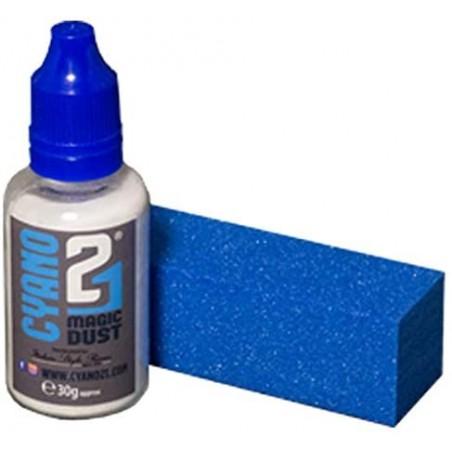 Colle21 - Kit Dusti 21, lime et poudre de verre - 30 g